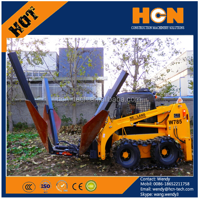 HCN 0503 tree transplanter mover for bob cat