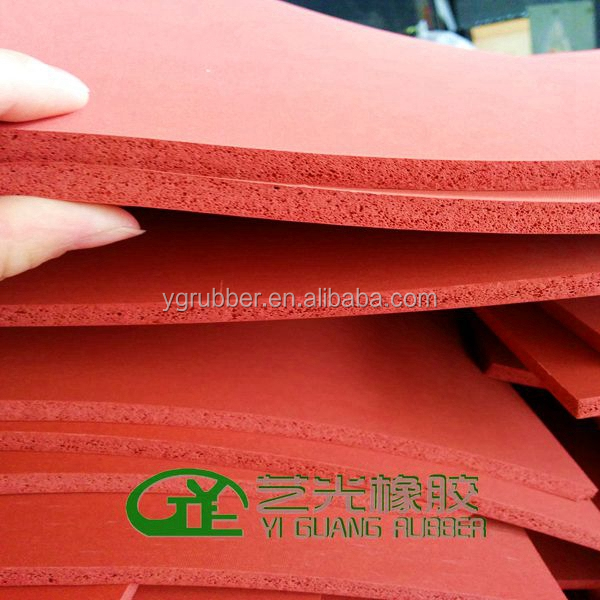 Sublimation silicone foam pad