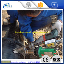 hand held plastic spot welding extruder for PVC PP PE HDPE