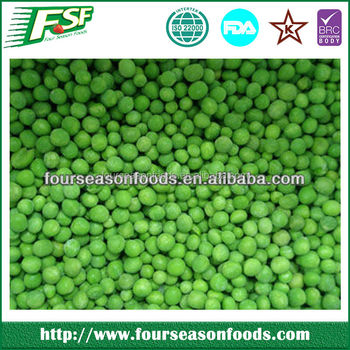 2017 Good quality grade A/B Iqf/frozen green peas in 10kg/500g