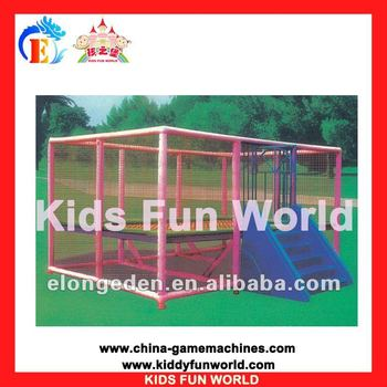 Popular Outdoor sport equipment Rectangle Trampoline (KFW-OS5006)
