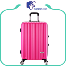 Cheap custom colorful ladies 20 hard carryon luggage