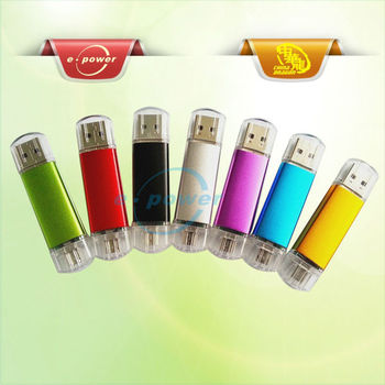 E-Power2013 Most Hot Selling OTG USB Flash Drives For Smartphone U1305A