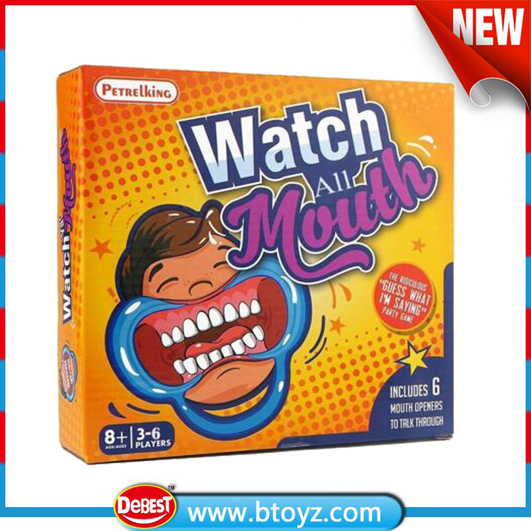 New arrival speak out Game Interesting Party Game Watch Your Mouth