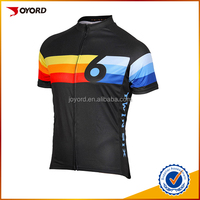 china sublimation print manufacturer custom quick dry blank cycling jersey