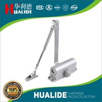 Spring loaded door closer, door closer pistons