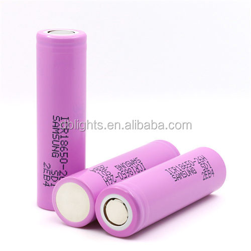 18650 original battery lithium-ion rechargeable cell ICR18650-26H 2600MAH