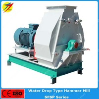 Electric poultry feed corn hammer mill grinding machine for sale