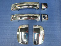 sale used toyota tundra 4x4 door handle cover ABS Chrome 6pcs car accessories