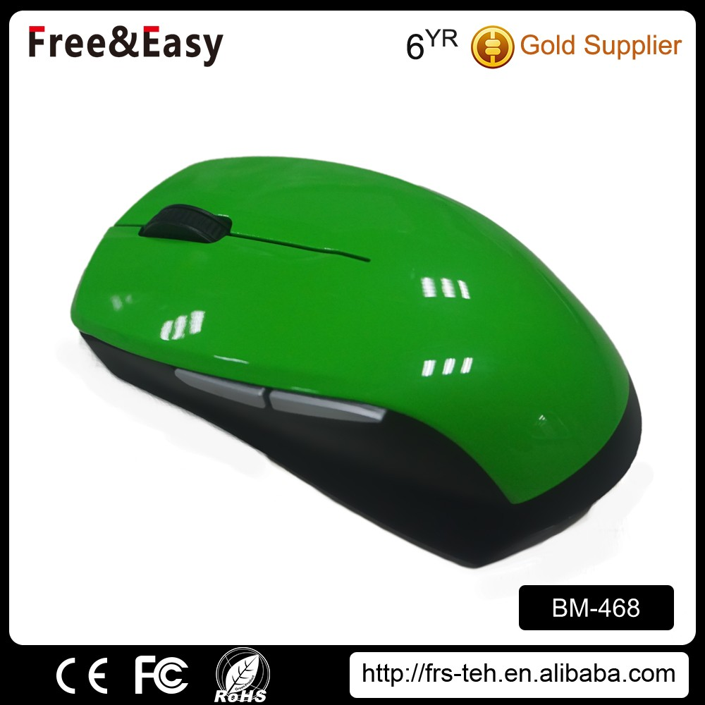 Elegant and handsom slim drivers bluetooth optical mouse