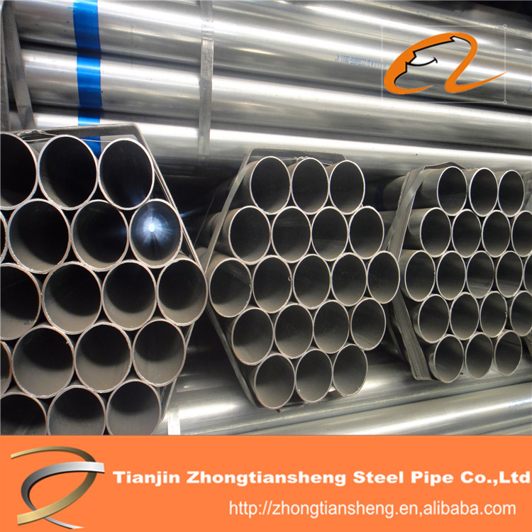cold rolled round pre galvanized pipe, tube building material
