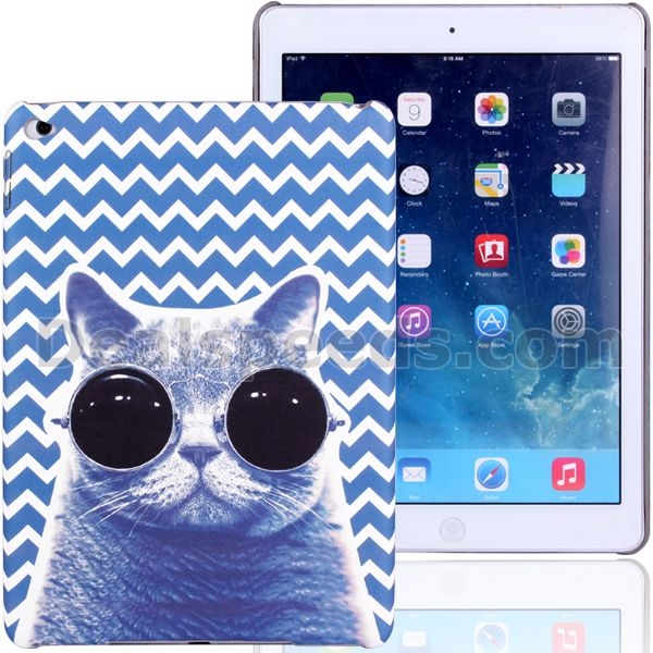 Hot Selling Leather PC Hard Case for iPad Air 2