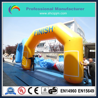customized inflatable start and finish line arch for sale