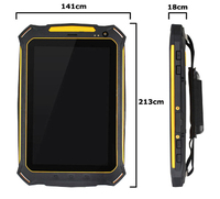 IP67 rugged tablet Waterproof Dustproof Dropproof ROM 16G RAM 1G Q72Q 3G Quad Core Qualcomm 8625Q 7 tablet rugged tablet case