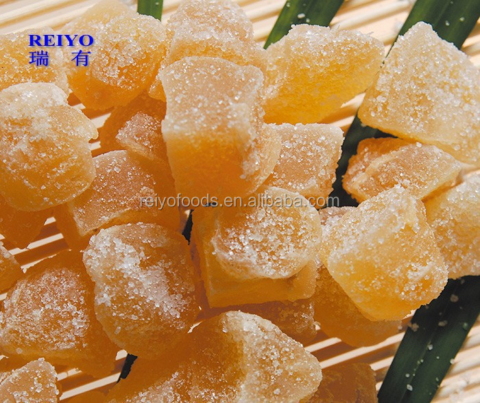crystallized ginger with sugar powder wholesale