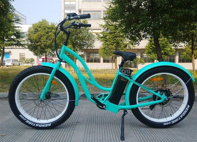 500w snow field vehicle with lithium battery fat tire electric bike for sales RSEB506
