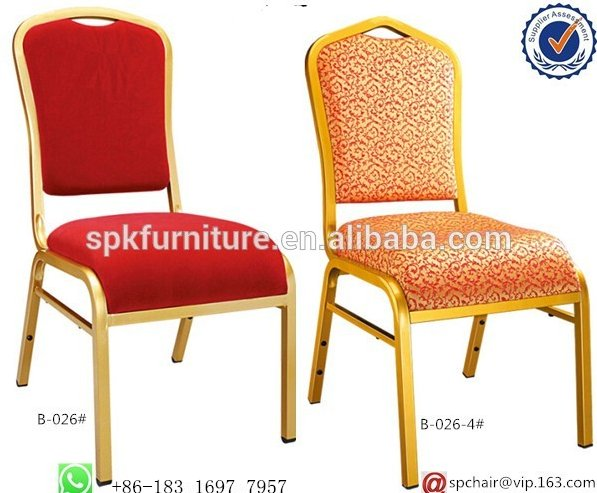 discount hotel stacking stainless steel banquet chair