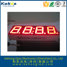 red color 4 digits 7 segment led digital display for countdown timer