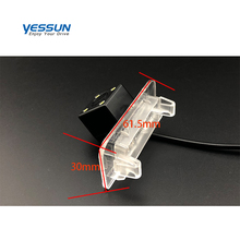 Yessun HD Waterproof Wide Angle For Mercedes Benz ML M MB <strong>W164</strong> Parking Camera Night Vision Waterproof