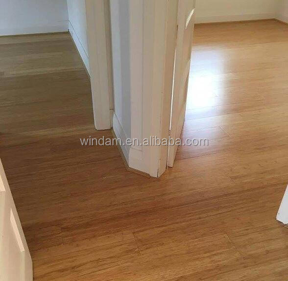 Indoor T&G Honey Color Cheap Bamboo Flooring