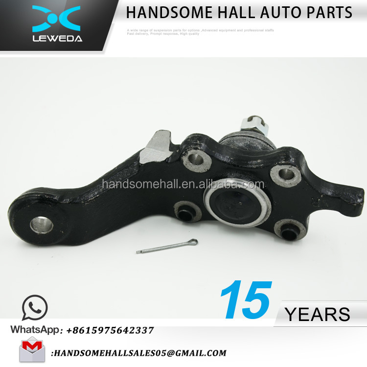 Toyota Land Cruiser Prado Auto Chassis Parts Front Right Lower Ball Joint 43330-39466 43330-39585