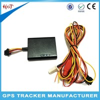 Wide Voltages 9-90V motorcycle gps tracker with mini U-blox mini gps tracking chip