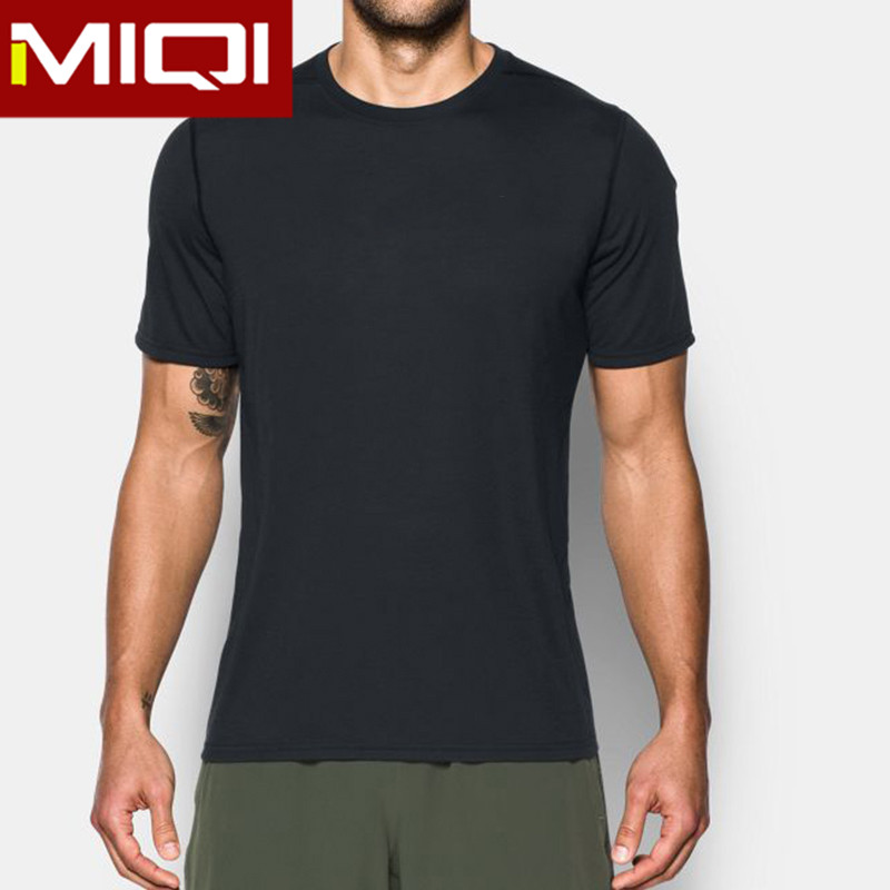 2017 new arrival men gym clothing with low MOQ wholesale fitness clothing men's t shirt