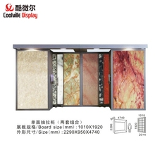 Granite Sample Display Stand