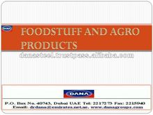 Foodstuff and Agro-Products Libya/UAE/QATAR/DUBAI/AFRICA/INDIA