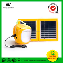 2015 lowest price rechargeable home solar lighting with phone charger