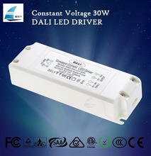 led dali driver constant voltage 2500ma 30w 12volt with 5 years warranty