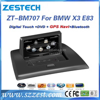 In-dash 7 inch 1 din wince 6.0 system car spare parts for BMW X3 E83 autoradio with car entertainment system Bluetooth Radio GPS