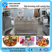 soft candy batch roller and rope sizer machine