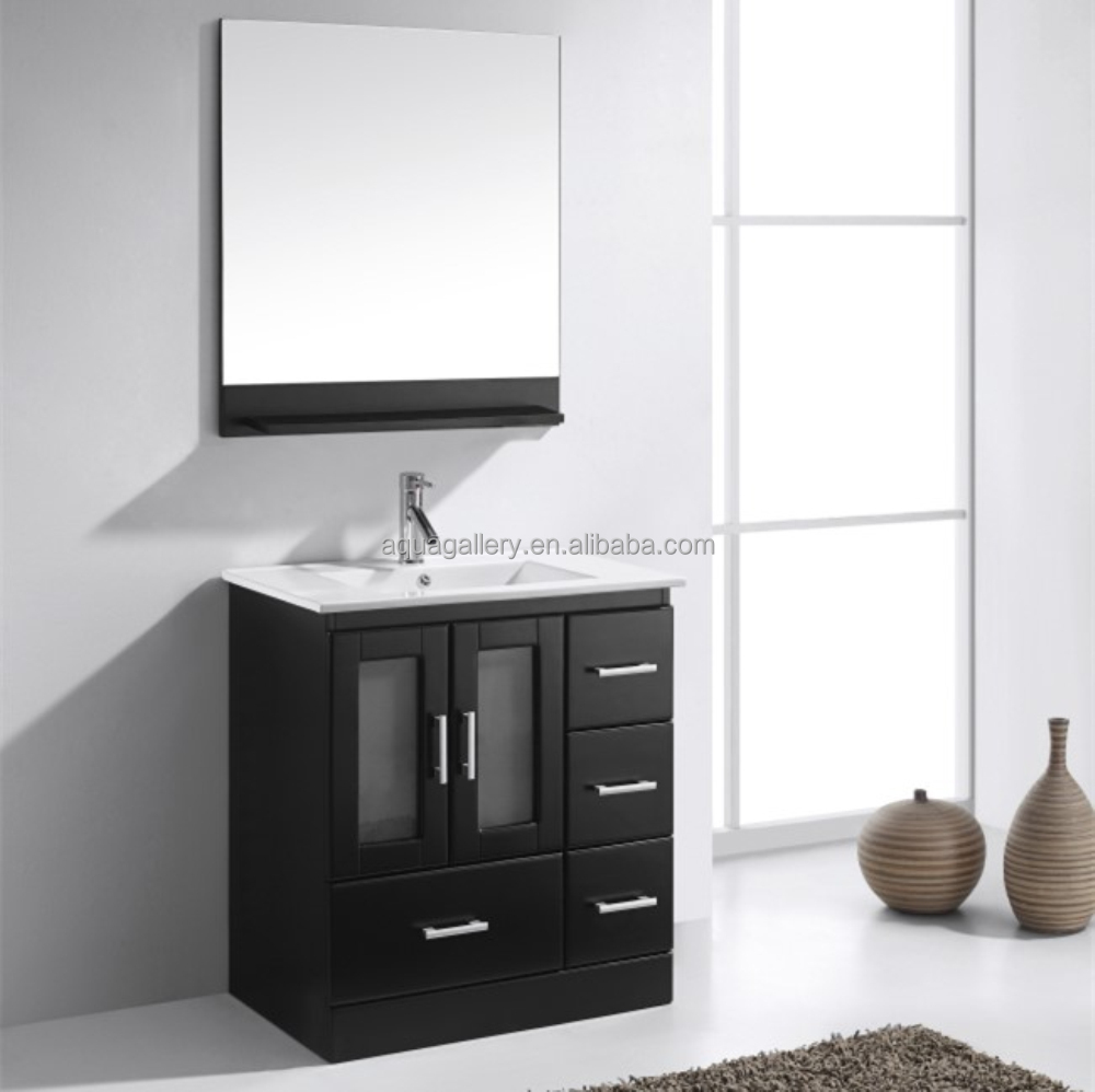 Wall Hung Australia Style Hot Sell Slim Bathroom Vanity