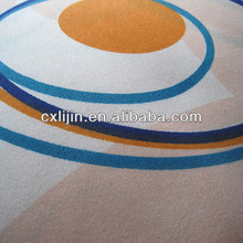 Polyester microfiber quilted fabric