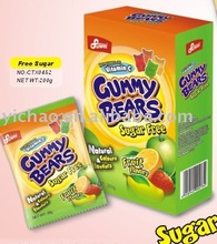 Sugar Free Yummy Gummy Bear