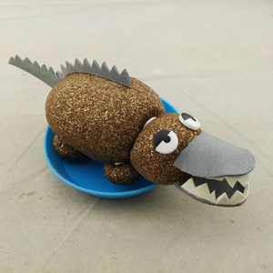 Special Craft Kids,Cute Crocodile Gift Art Craft Stocks For Kids Home
