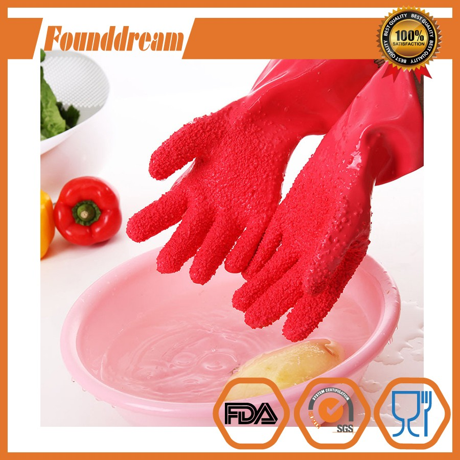 New Creative Kitchen potato Peeling Fruits DIY Household Glove Home Peeled Potato Cleaning Gloves