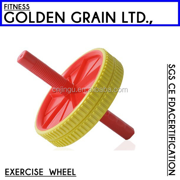 Fitness small plastic roller exercises