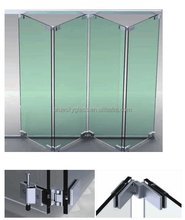 Tempered laminated insulated glass for sliding folding door and heavy sliding door