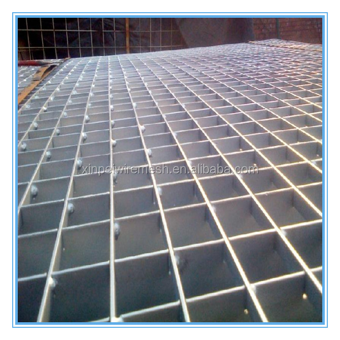 China factory supply high quality electro galvanized steel grating/steel grids grating floor/floor drain galvanized steel gratin