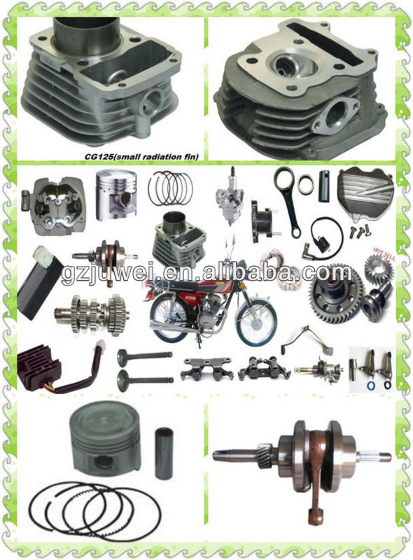 High quality motorcycle engine parts for CG125,CG150,CG200,CG250