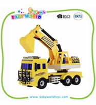 2016 Plastic Friction Car Mini Dump Truck Toy