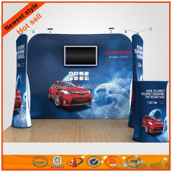 protable pop up booth display banner for sale
