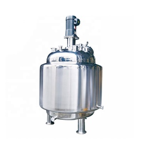 stainless steel slurry stainless syrups mixing tank