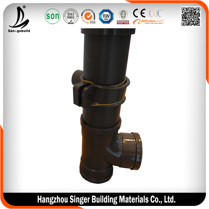 Low price black plastic drain pipe for sale, high quality black plastic water line pipe fittings