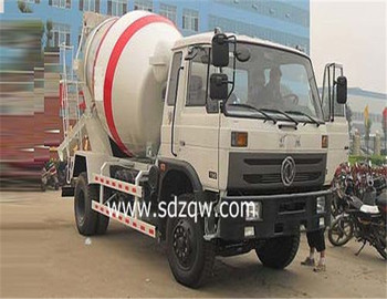 dongfeng mini capacity concrete mixer truck with competitive price