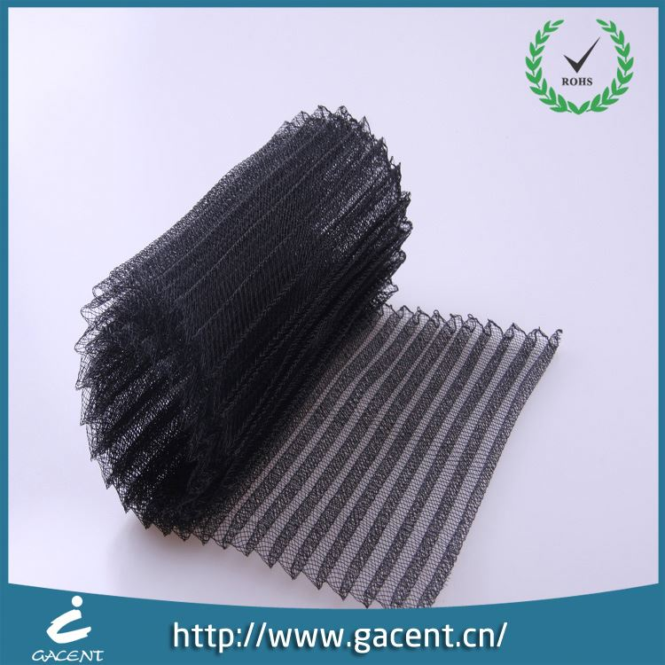 Hat Decorative Pleated Horsehair Braid For Evening Dress
