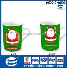 ceramic drink ware Christmas mug