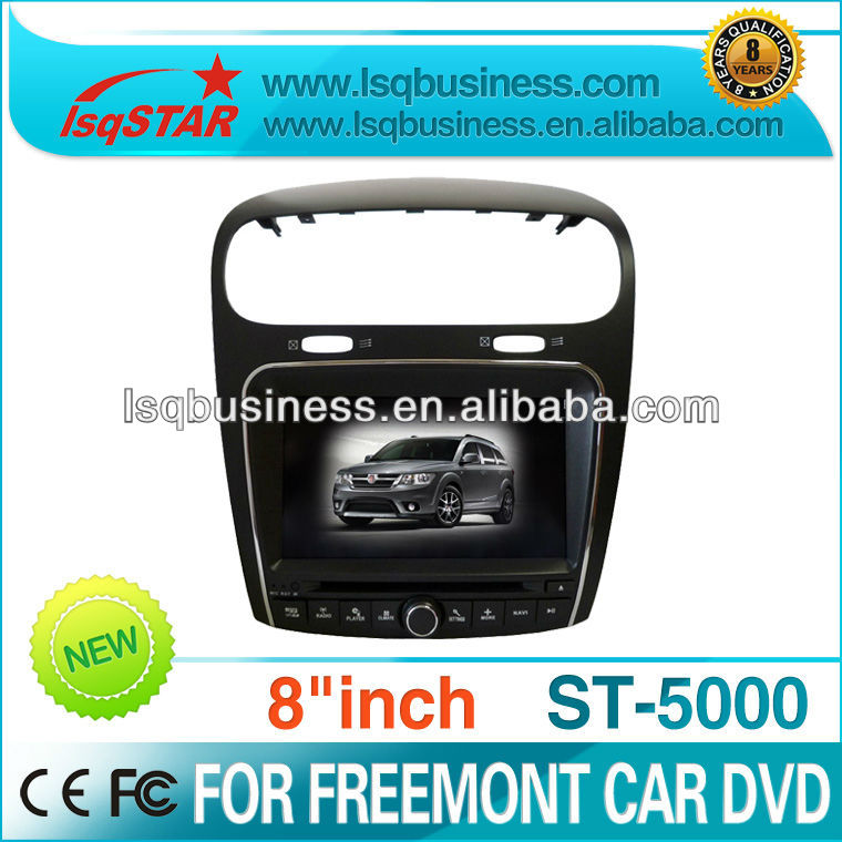 Fiat Freemont sound system wheels for car with 3D PIP GPS Bluetooth Radio touch screen player,ST-5000